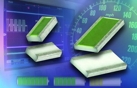 Vishay为L-NS系列低阻值表面贴装薄膜片式电阻扩充外形尺寸