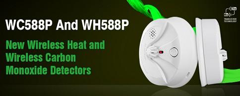 盛波尔发布WH558P无线温感和WC558P无线一氧化碳探测器