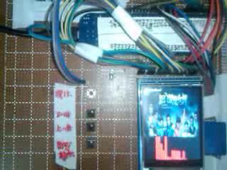 """liklon""的 RL78/G13 开发板做的DIY MP3的频谱功能测试视频"