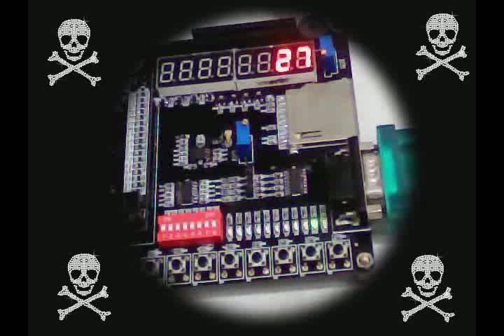 啸风 的FPGA_DIY交通灯视频