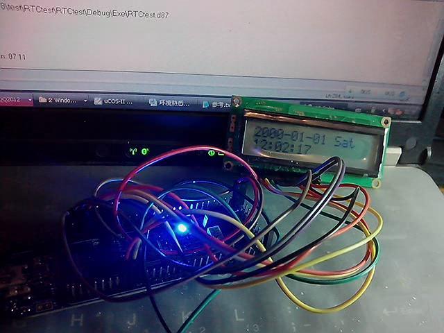"""wuyanyanke""的RL78/G13+1602LCD实现RTC时间显示功能视频"