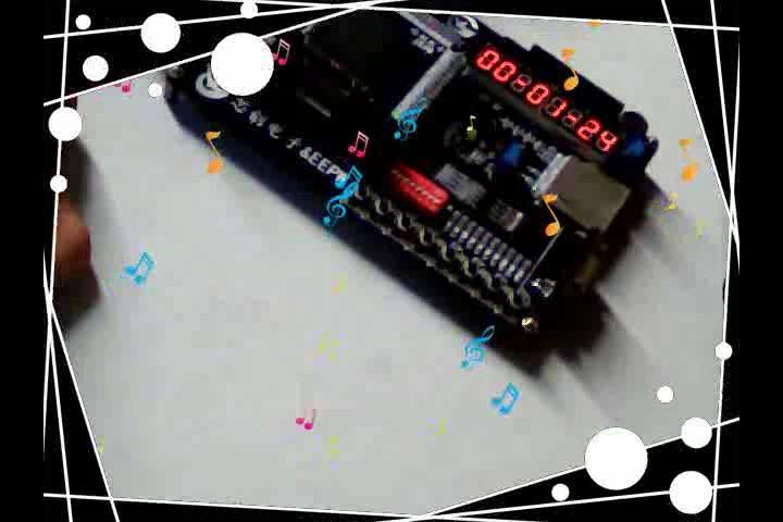 啸风的FPGA DIY数字时钟数码管显示