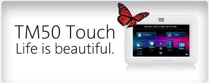 盛波尔发布新三代TM50互动式彩色触摸屏系统控制键盘
