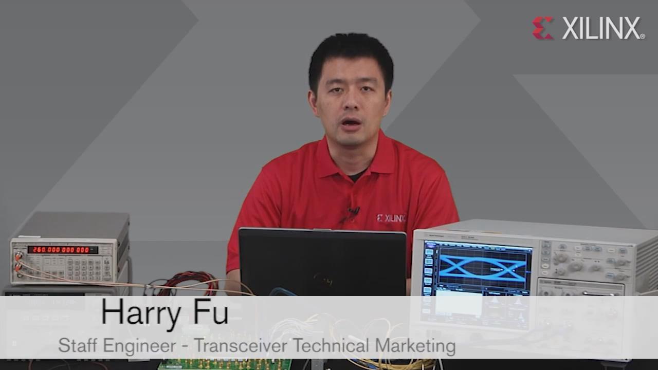 赛灵思7系列GTZ(高达28.05Gb_s)高速串行收发器性能与兼容性演示
