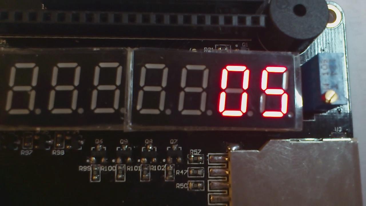 xianglin1006 的 FPGA DIY 模为60的计数器视频