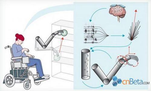 意识控制机械手臂技术获得突破性进展