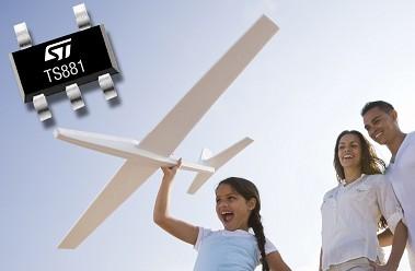 意法半导体推出超低功耗器件