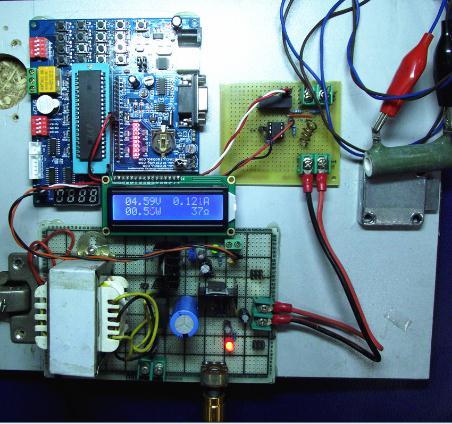 多功能数显实验电源
