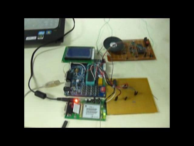 基于GSM的变压器防盗报警装置
