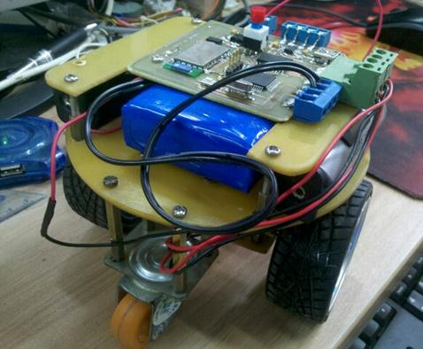 基于IAP15F2K61S2的蓝牙无线智能小车