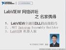 LabVIEW网络讲坛第四季之LabVIEW中调用DLL的高级技巧