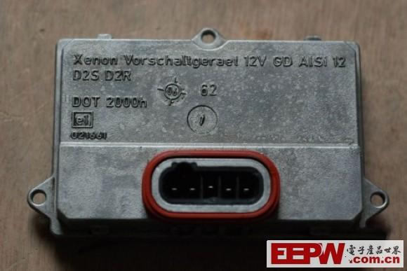 拆解德国海拉HELLA D2S D2R氙气大灯安定器–单反高清图