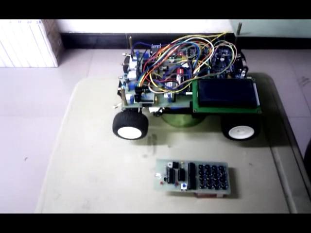 智能自动寻光避障小车
