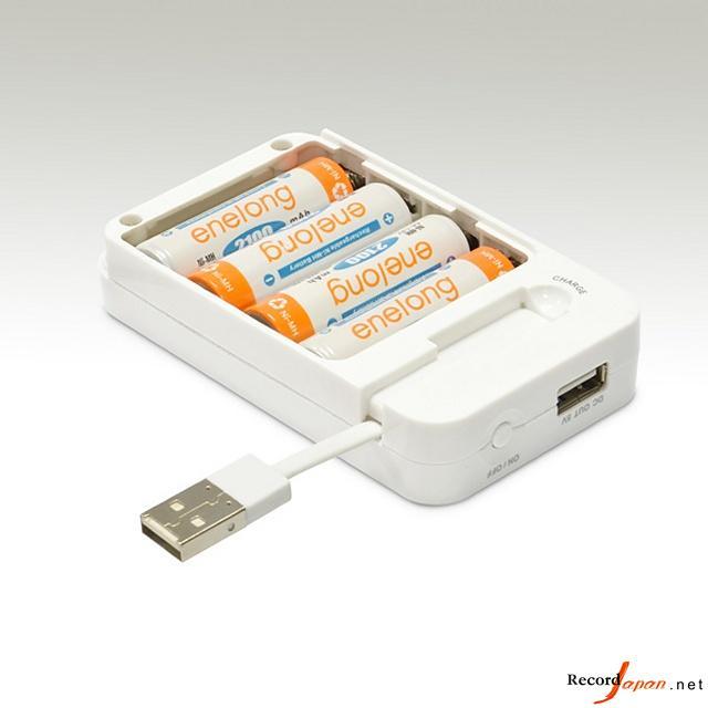 日本科技公司推出多功能干电池移动电源