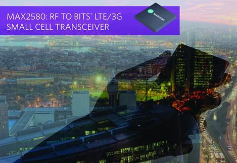 Maxim推出LTE/3G多模式RF收发器