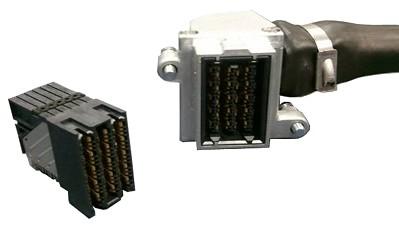 FCI开发出传送速度达40 Gb/s带宽能力ExaMAX连接器