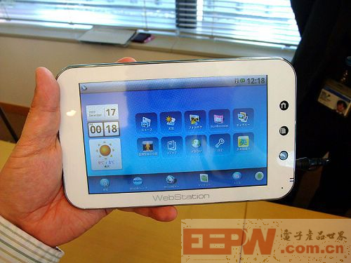 Android MID WebStation真机曝光+拆解