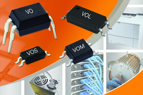 Vishay发布超小SSOP-4 Mini-Flat封装新款低输入电流光耦
