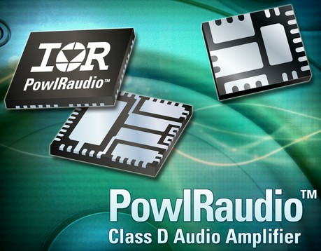 IR推出60V IR4321M 和IR4322M集成式功率模块