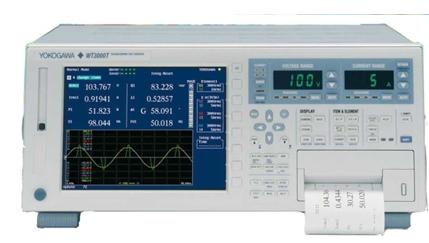 横河发布可用于变压器测试的功率分析仪WT3000T