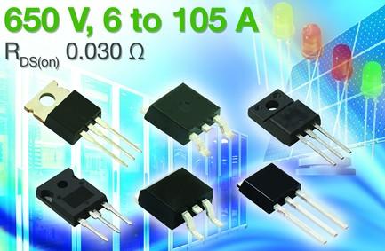 Vishay大幅扩充E系列650V N沟道功率MOSFET家族