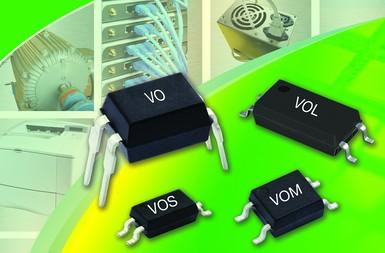 Vishay新款低交流输入电流光耦节约60%以上的电路板空间