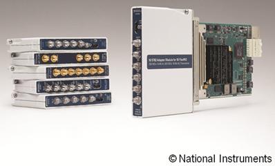 NI FlexRIO适配器模块系列总数增至20个以上