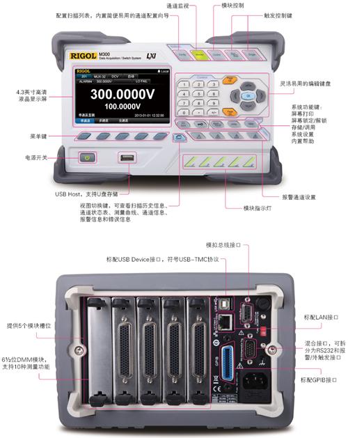 RIGOL發布M300數據采集/開關系統