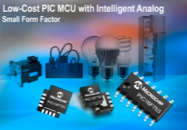 针对照明解决方案的PIC12F(HV)752PIC16F(HV)753产品概览