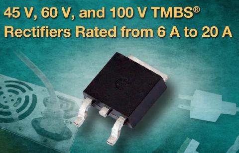 Vishay新款TMBS整流器减少功率损耗并提高效率