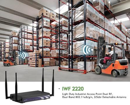 新汉工业Wi-Fi AP为轻工业提供实时数据访问