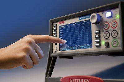 吉时利重磅推出首款触摸屏源测量单元仪器