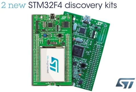 意法为STM32F4高性能嵌入式开发生态系统注入活力