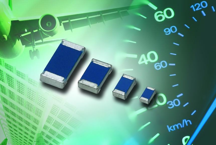 Vishay强化MC AT专业和精密系列车用薄膜片式电阻