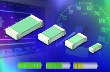 Vishay扩大MC系列专业和精密薄膜片式电阻的欧姆值范围
