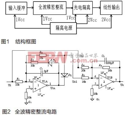 交流信号转直流信号电路设计