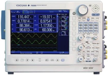 横河发布世界首台示波功率仪PX8000