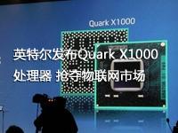 英特尔发布Quark X1000处理器 抢夺物联网市场