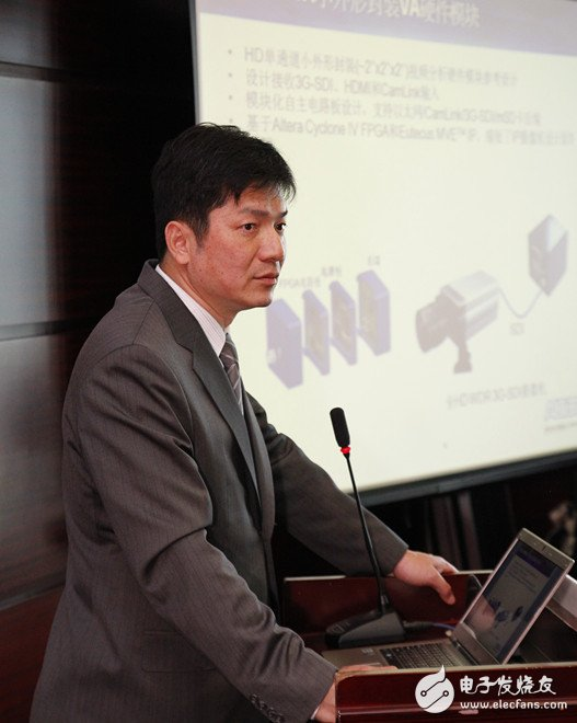 Altera亚太区工业业务部市场开发高级经理江允贵先生