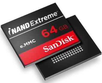 闪迪新一代 iNAND EXTREME 嵌入式闪存加快旗舰级安卓智能手机与平板电脑响应速度