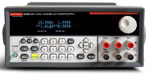 吉时利2200系列产品线新增两款GPIB可编程稳压电源