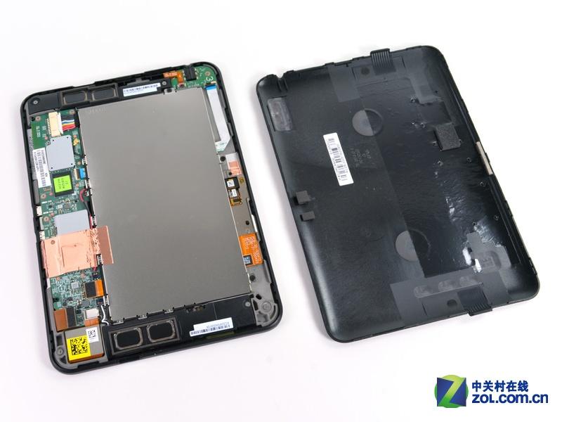 谷歌劲敌 7英寸Kindle Fire HD拆解图赏