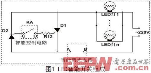 一种基于LED的通用型智能开关设计