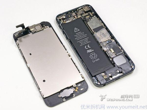 iphone5 拆机图解教程