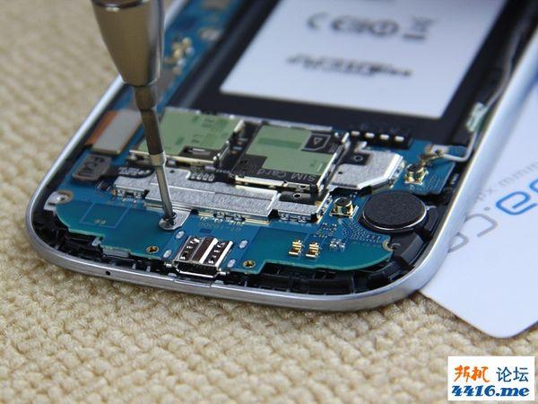 三星手机879拆机步骤图解