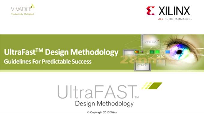 【中文讲解】Vivado UltraFast 设计方法