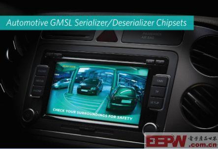 Maxim Integrated推出串行器/解串器(SerDes)芯片组