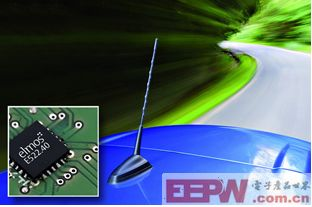 elmos推出紧凑型封装汽车级双天线电源保护芯片