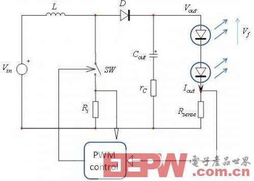 基于LED串的DCM升压转换器设计