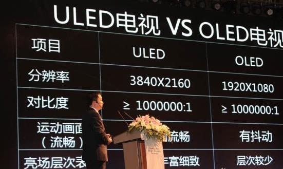 OLED遇强劲对手:ULED才是当下王道